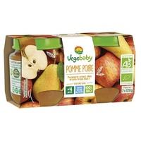 Baby Pots Jabłko Gruszka 4 miesiące