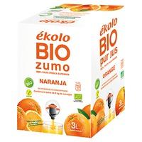 Bag in Box Organic Natural Orange Juice