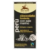 Tableta de Chocolate Negro con Sal Marina