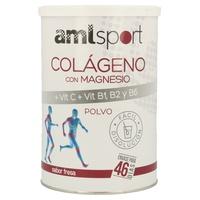 Colágeno con Magnesio y Vitamina C + B1 B2 B6 Amlsport