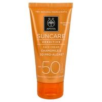 Crema Solar Facial Pieles Sensibles SPF50