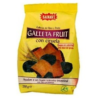 Gallefruit Galleta Ciruela Laxante - Sanalinea