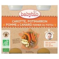 Boião Menu Legumes & Pato Bio (a partir dos 8 meses)