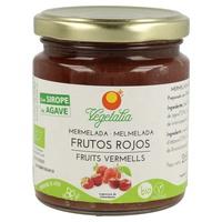 Dżem z czerwonych owoców z organicznym syropem z agawy