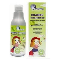 Shampooing aux vitamines spécial pour l'âge scolaire