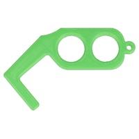 Ouvre-porte vert