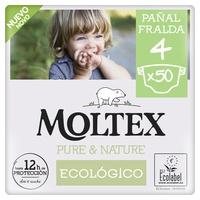 Fraldas Moltex Pure & Nature T4 (9-15 kg)
