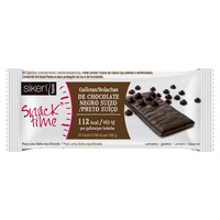 Siken Form snack time galleta chocolate negro