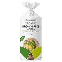 Tortitas de Arroz Integrales de Quinoa y Chía Bio