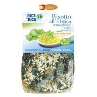 Nettle risotto - with miso