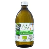 Organiczny pasteryzowany sok Aloe Vera do picia - 500 ml