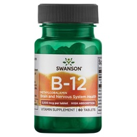 Vitamine B-12 méthylcobalamine, haute absorption 5000mcg