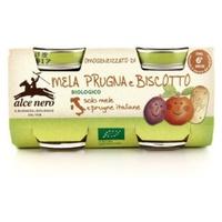 Homogenized apple plum biscuit