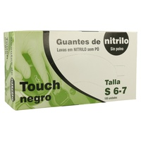 Black Nitrile Gloves Powder Free (Size S)