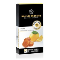 100% Manuka Honey 10+ pastilles and Lemon Juice