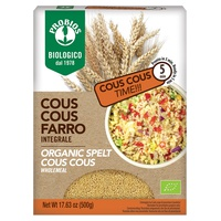 Wholemeal spelled couscous