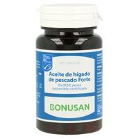 Aceite de Hígado de Pescado Forte 120 cápsulas de Bonusan
