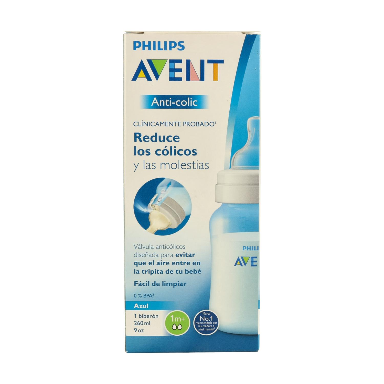 Philips Avent SCD809//03 Set de biber/ón Anti-colic azul