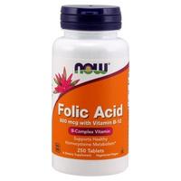 Acide folique 800 mcg + B12 25 mcg
