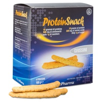 Protein snack grissini