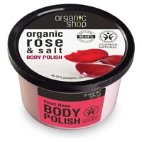 Organic Rose and Salt Body Polish