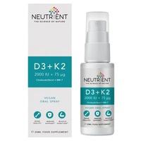Neutrales Vitamin D3 + K2 Vegan Spray