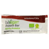 Barrita Proteica de Arándanos y Chia 35 Gr de Bevegan