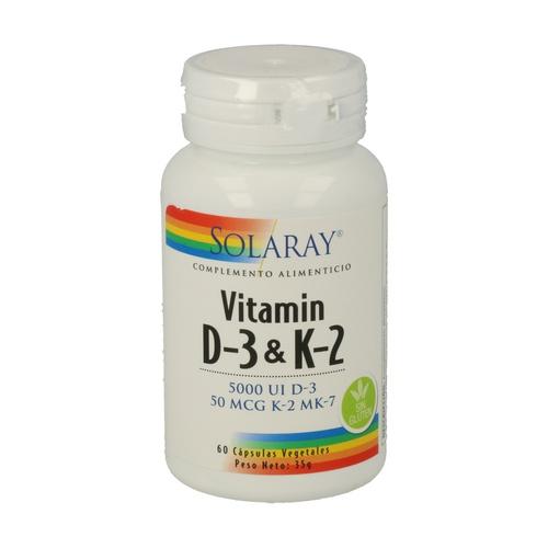 Vitamin D3 + K2