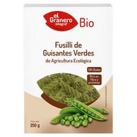 Pasta Fusilli de Guisantes Verdes Bio