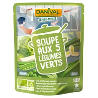 Sopa Crema 5 Verduras Verdes Bio