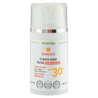Tinted Facial Sun Cream SPF 30+ with Mineral Filters