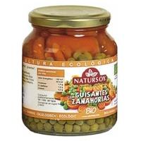 Guisantes Cocidos Con Zanahoria Bio