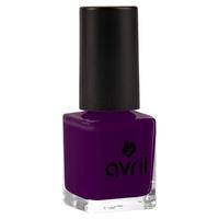 Aubergine nail polish