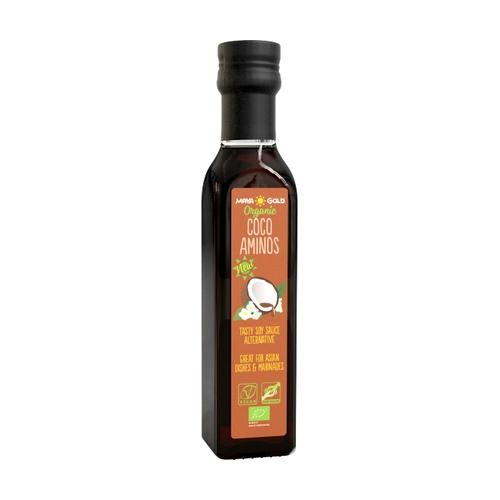 Coco Aminos Salsa de Coco Orgánico 250 ml de Maya Gold Organic
