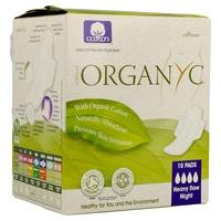 Compresas noche c/alas (Bolsa Ind) 100% Algodón Orgánico