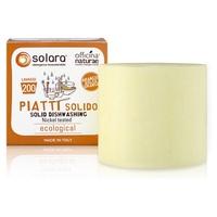 Solara Sapone Solido per Piatti Solubile e Super Concentrato - Arancio Dolce
