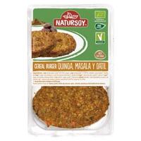 Hamburguesas Quinoa, Masala, Dátil