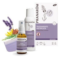 Aromapar + Bio Anti-Lice Spray + Shampoo + Lendrera