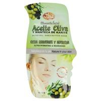 Mascarilla Facial Aceite Oliva Y Manteca karité