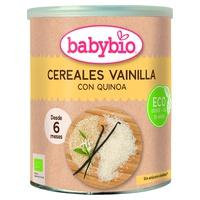 Cereal and Vanilla porridge + 6 months