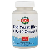 Red Yeast Rice Co-Q10 Omega 3