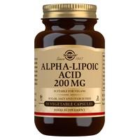 Ácido Alfa Lipoico 50 cápsulas vegetales de 200 mg de Solgar