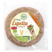 Spelt and Flax Wrap Tortillas Bio
