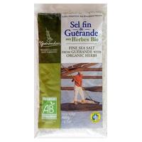 Fine salt with organic herbs