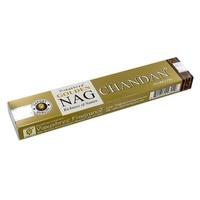 Incenso Golden Nag Chandan Dourado