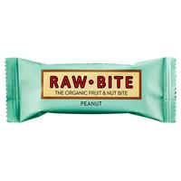 Superbarritas Veganas Raw-Bite (Cacahuete) 12 barritas de 50grs de Vitafood Raw