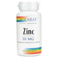 Zinc 60 cápsulas vegetales de 50 mg de Solaray - Kal