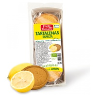 Tartalenas de espelta rellenas de limón sin azúcar