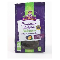 Semi-cooked giant Agen 33/44 prunes with pits