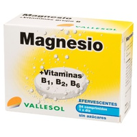 Magnesio y Vitaminas B1,2,6